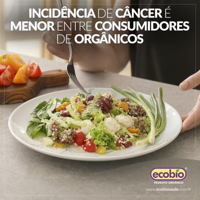 Estudo mostra relação entre alimentos orgânicos e a redução do câncer