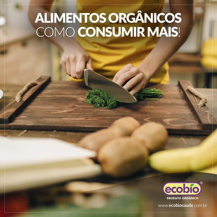 Alimentos Orgânicos como consumir mais?