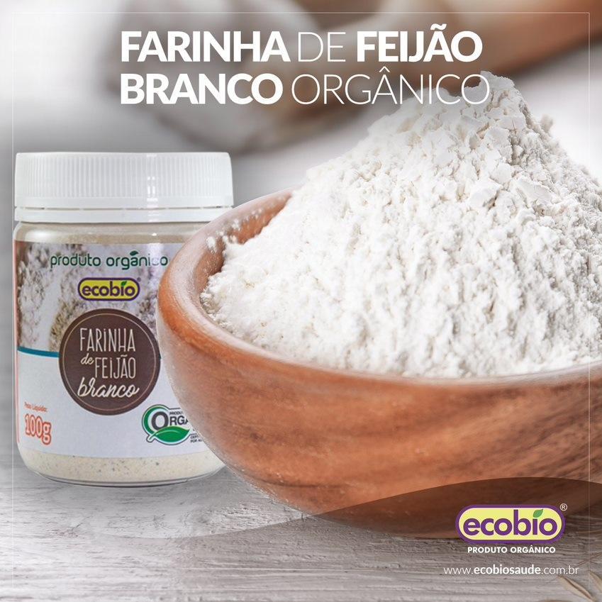 Farinha de Feijão Branco Orgânico