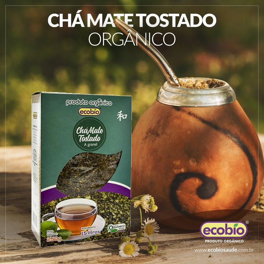 Chá Mate Tostado Produto Orgânico