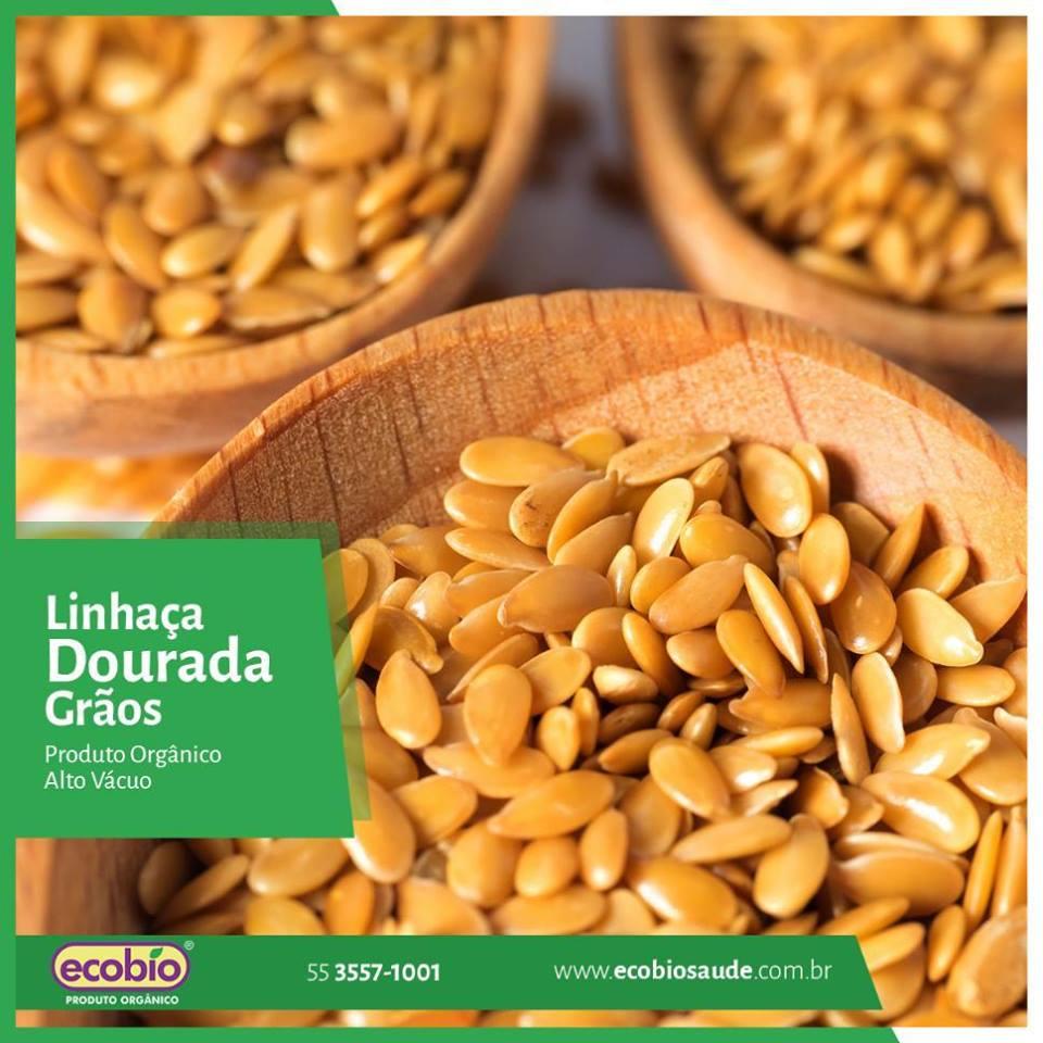 Linhaça Dourada em grãos