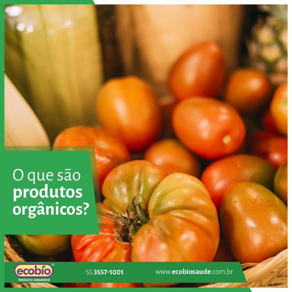 O que são produtos orgânicos?