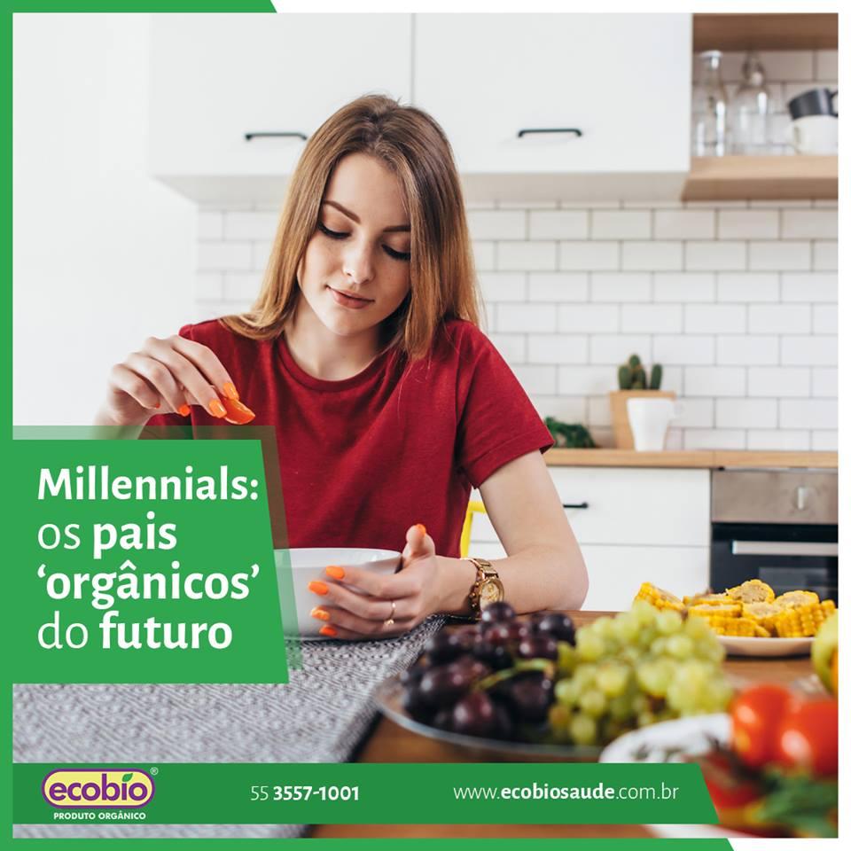 Millennials: os pais 'orgânicos' do futuro
