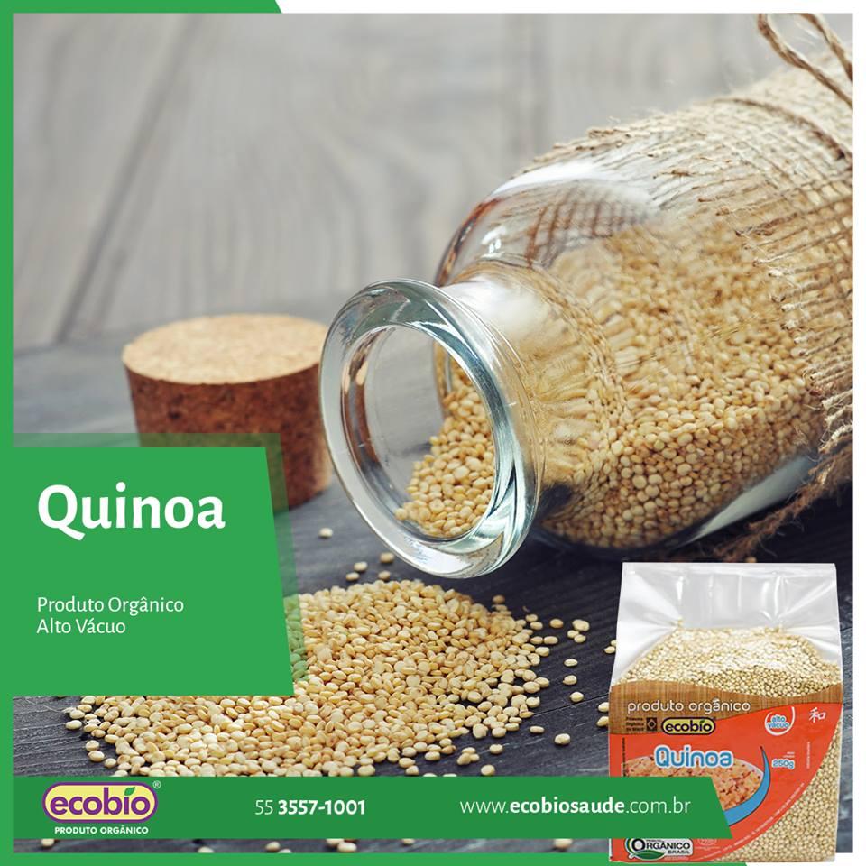 Quinoa Orgânica alto vácuo