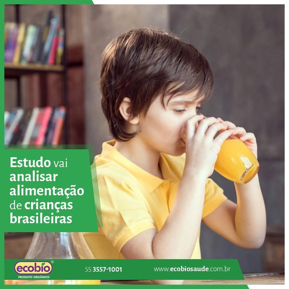 Estudo vai analisar alimentação de crianças brasileiras