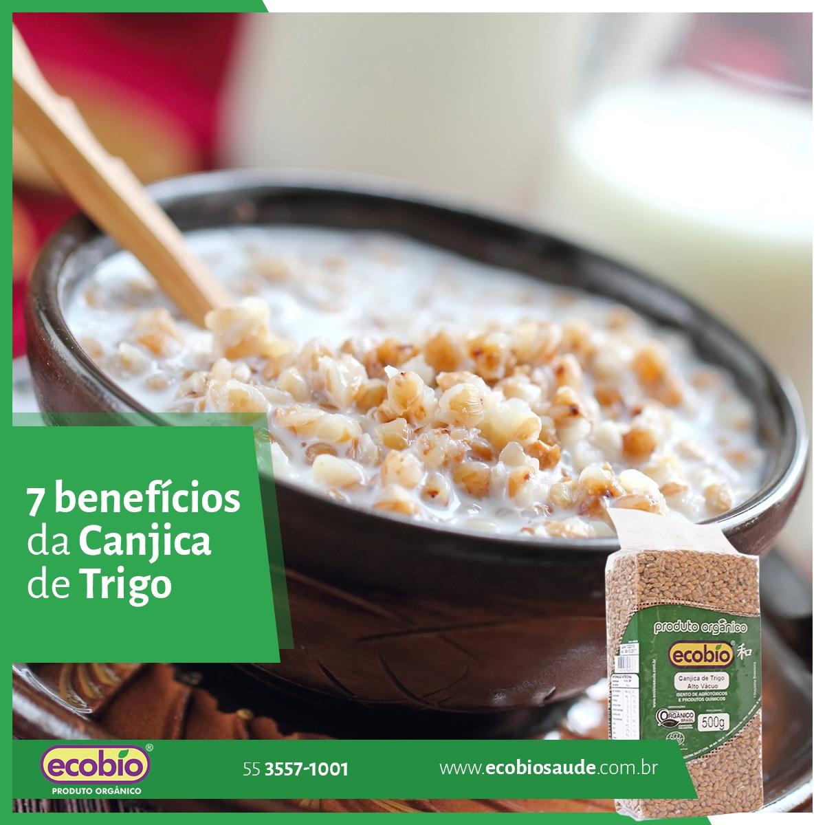 7 benefícios da Canjica de Trigo