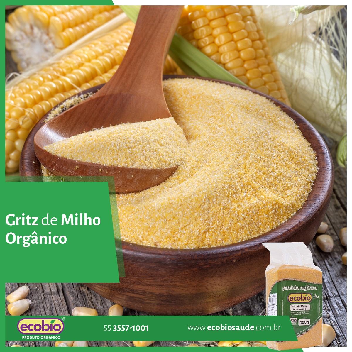 Gritz de Milho Orgânico