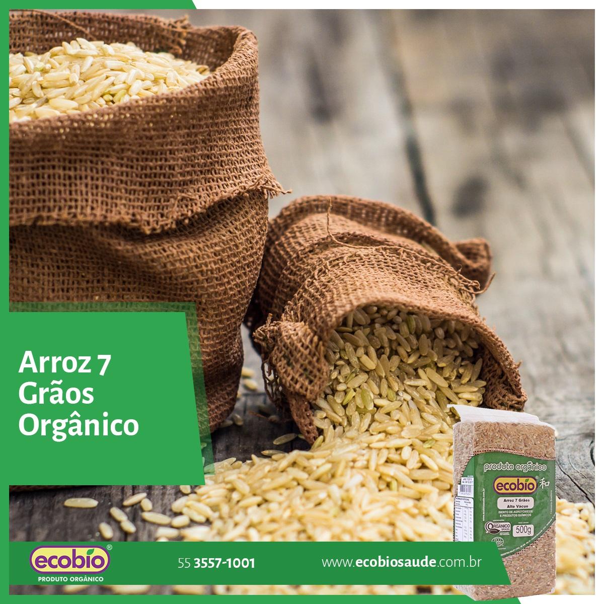 Arroz 7 Grãos Orgânico Ecobio
