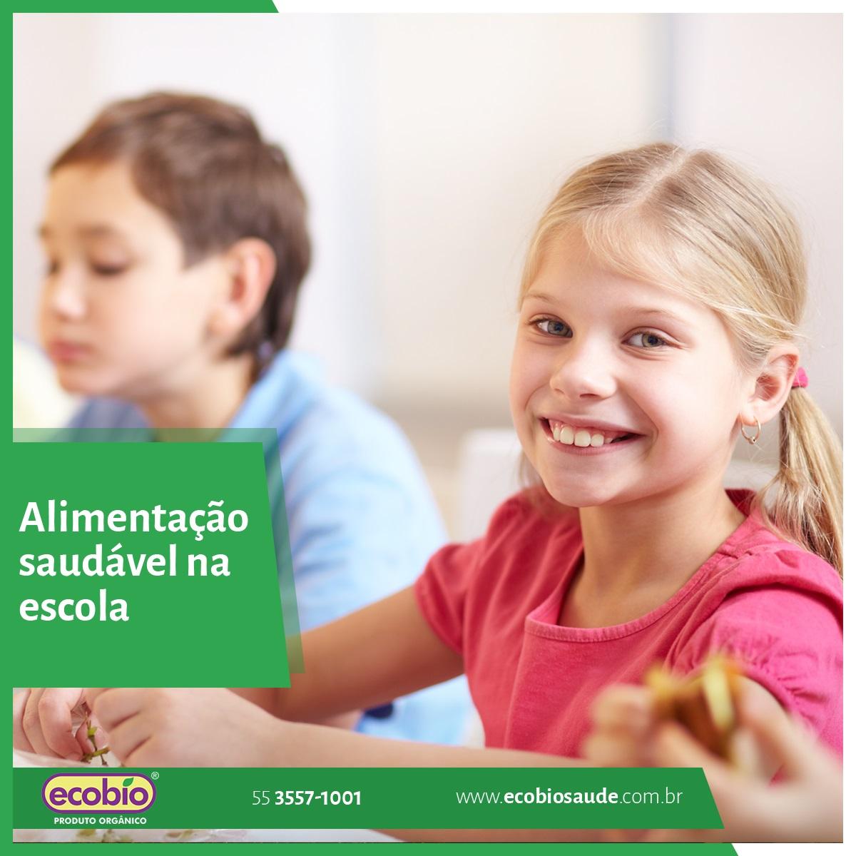 Alimentação saudável na escola