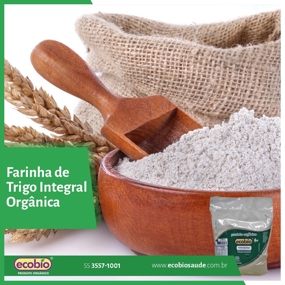 Farinha de Trigo Integral Orgânica