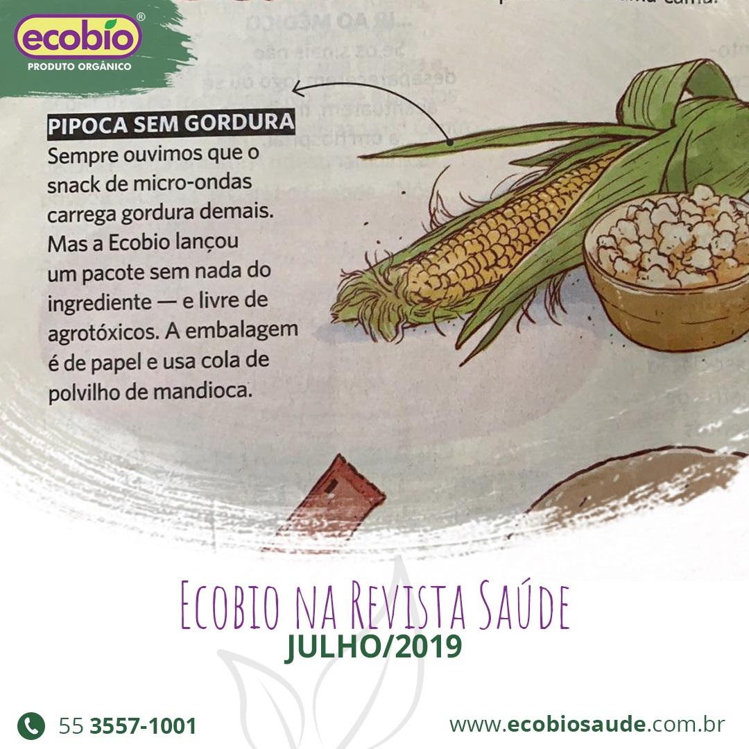 Ecobio na Revista Saúde julho/2019
