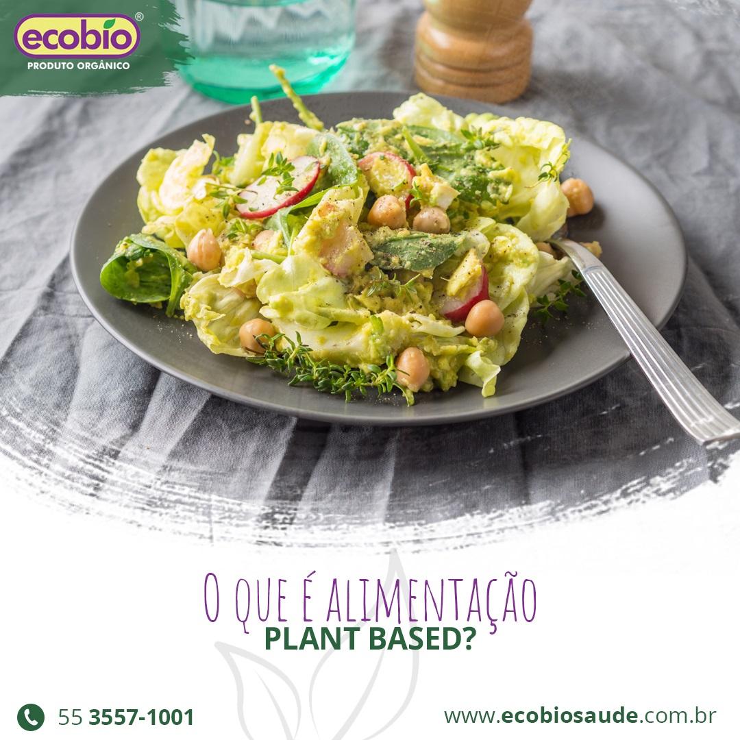 O que é alimentação Plant Based?