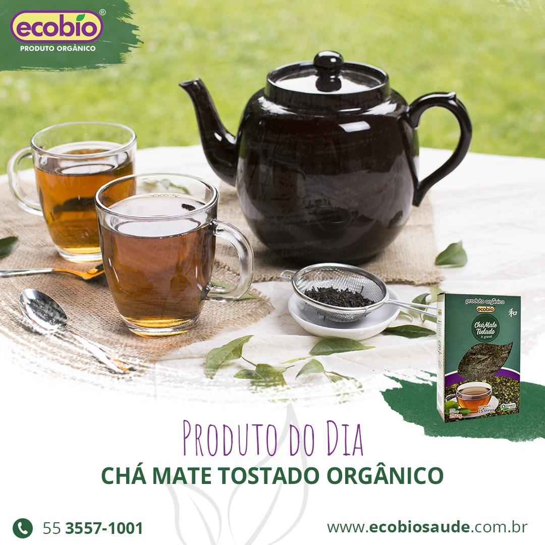 Chá Mate Tostado Orgânico