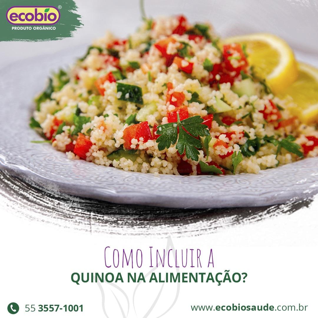 Como incluir a Quinoa na alimentação?