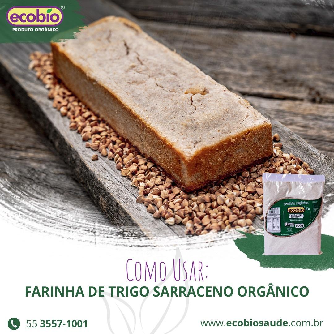 Como usar: Farinha de Trigo Sarraceno Orgânico