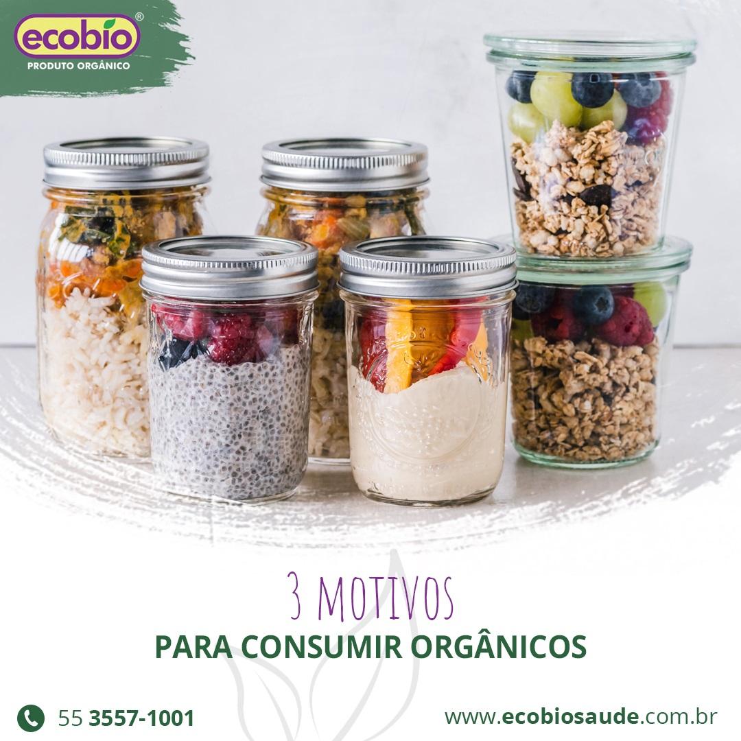 3 motivos para consumir orgânicos