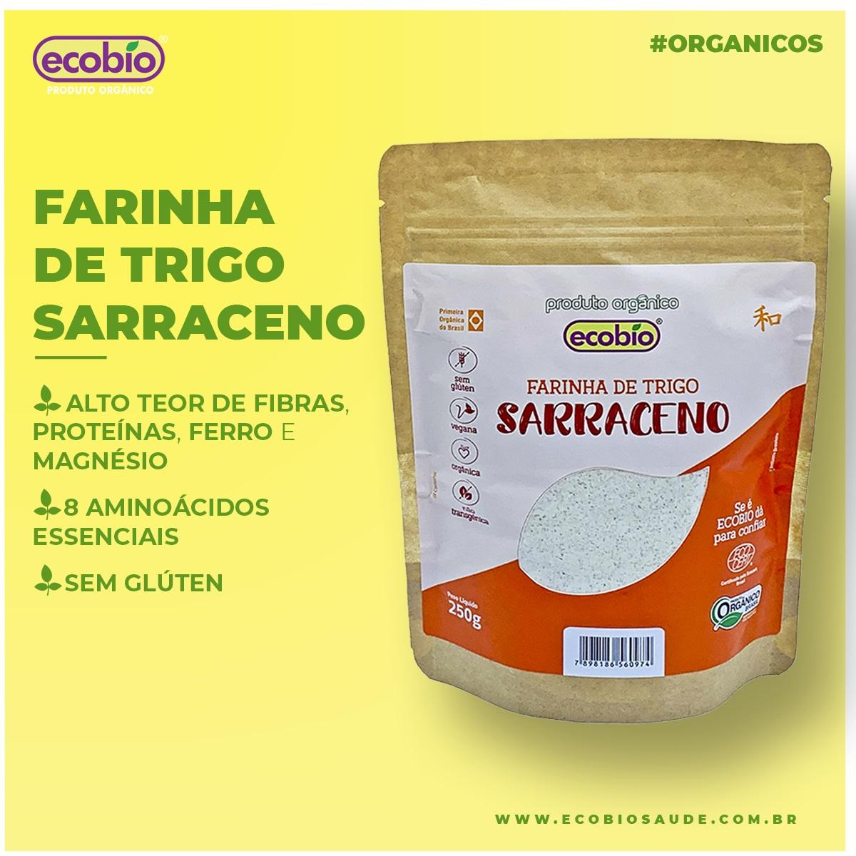 Farinha de Trigo Sarraceno Orgânico